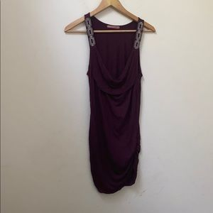 Velvet by graham and spencer purple dress